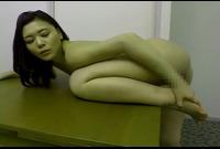【主婦】内田美奈子(31)ちょっぴりエロい柔軟体操☆おま●この開き具合がヤバい!興奮する☆